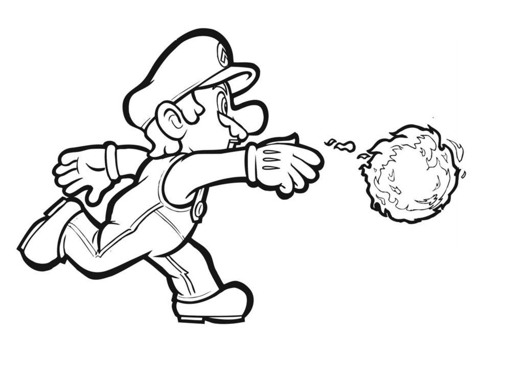 Super Mario Bros: Disegni da colorare gratis www