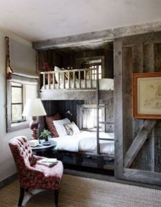 cozy beds nestled in wall nooks also bunk rooms decorating and room rh pinterest