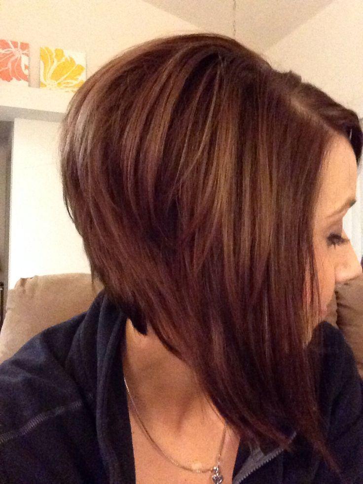 Inverted Bob Hairstyles For Short Hair HAiR! Pinterest