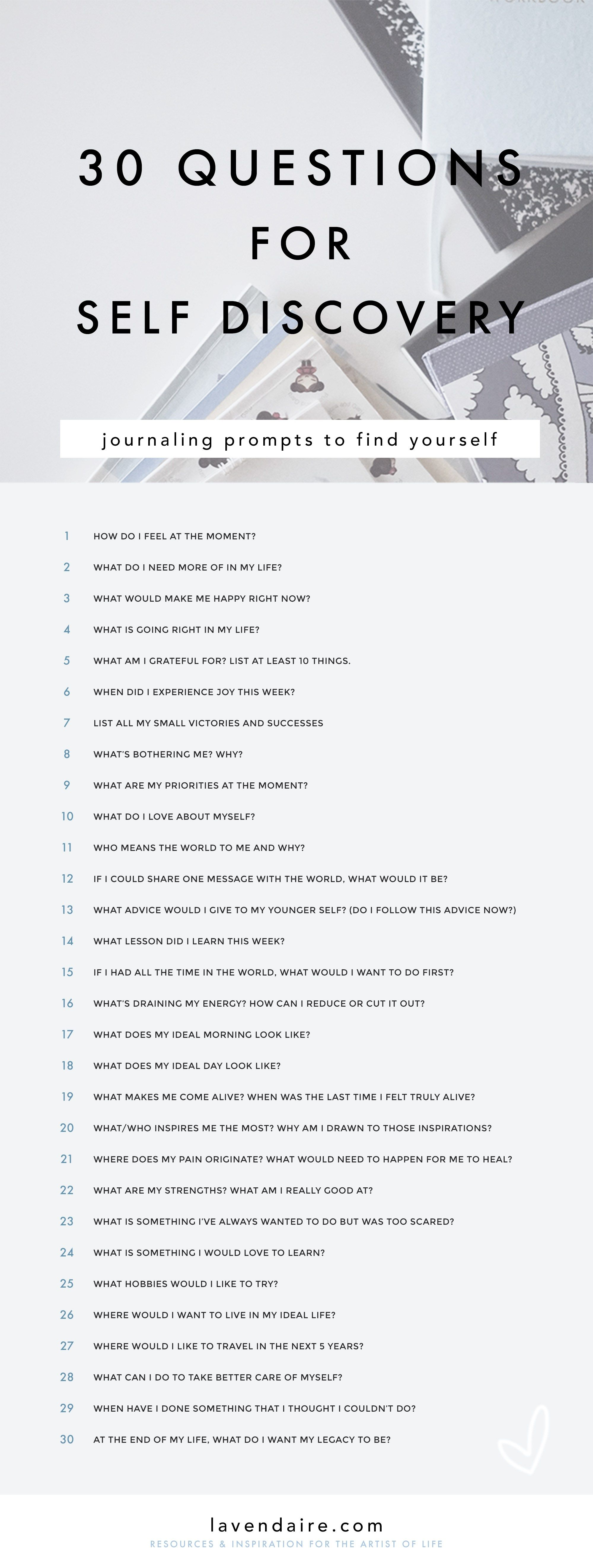 Journaling Ideas Prompts