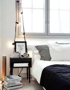 Interior beautiful decoration with various string lights light ideas for black and white bedroom also pink elephant deco style home pinterest room rh za