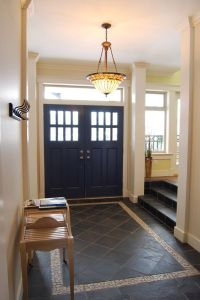 20 Amazing Farmhouse Entry Design Ideas | Tile design ...
