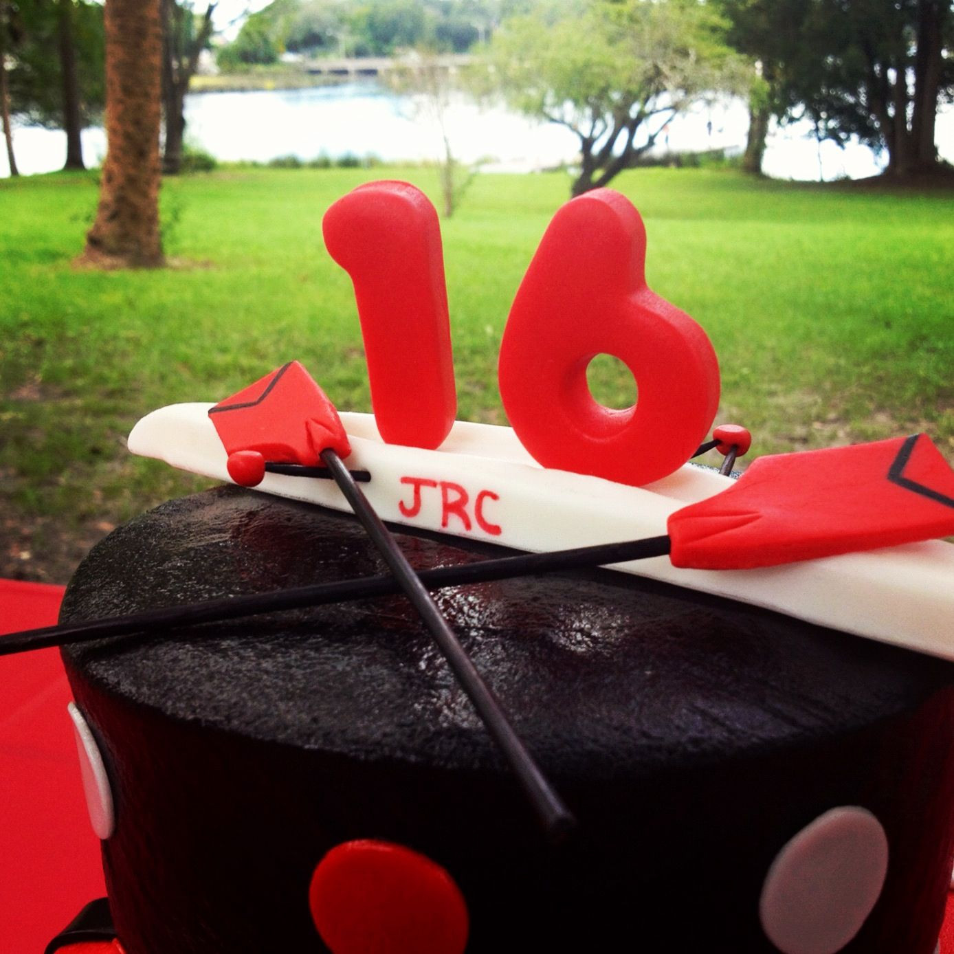 Rowing Cake