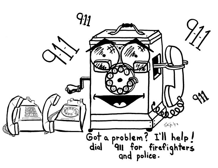 Fire Safety Theme Coloring Booklet (14 Pages) at Nuttin