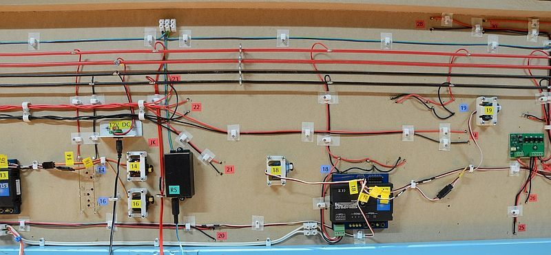 Dcc Wiring Diagram For Trains