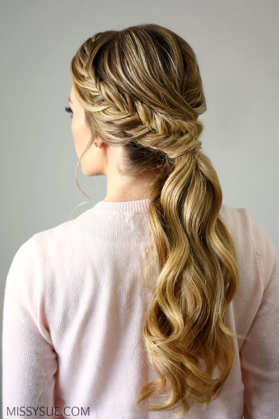 21 Pretty Side Swept Hairstyles For Prom Your Hair Crucial And