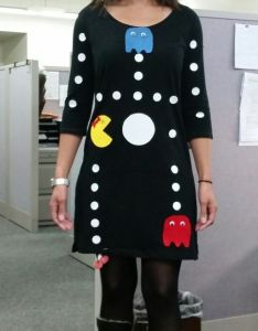 Ms pacman game costume dyi costumes   ideasdiy also resident evil albert wesker cosplay hallowee fany rh pinterest