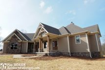 Plan 36043dk Angled Craftsman Home With Outdoor