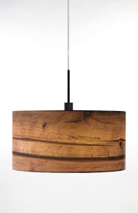 Globen Lighting Wood One Light Pendant in Brown | Wayfair ...