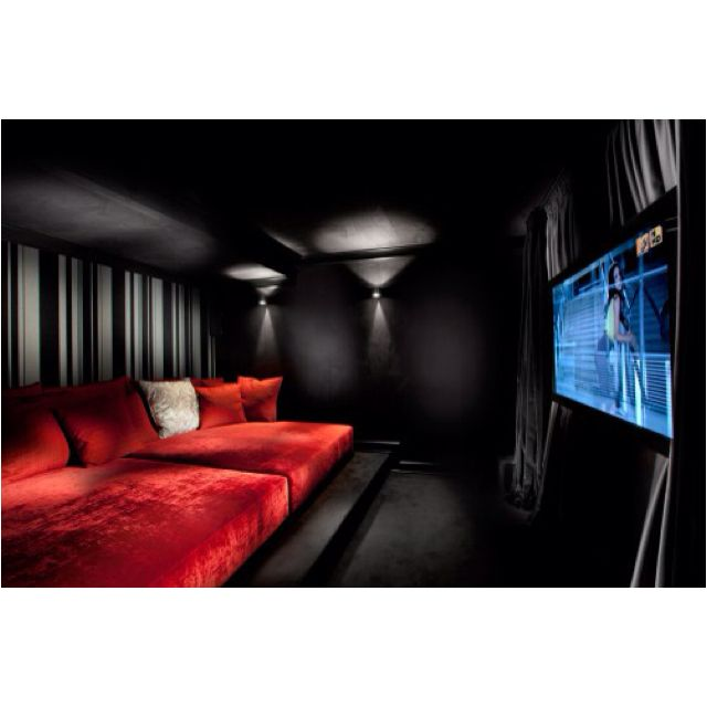 Cool movie room ideas in housenema theatre themed decor wall art film accessories furniture etc tips for your home also yes but with superman and all my other obsessions rh pinterest