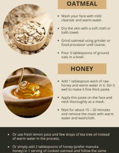 Mask  oatmeal honey has antibacterial antioxidant and anti also face masks for acne masking rh pinterest