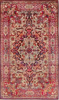 Antique Silk Persian Kermani Rug 47591 Main Image