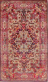 Antique Silk Persian Kermani Rug 47591 Main Image