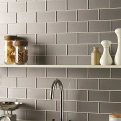 Wall Tiles For Kitchen Single Handle Pulldown Faucet Erebos Metallic Glass Brick Are A Modern Twist On