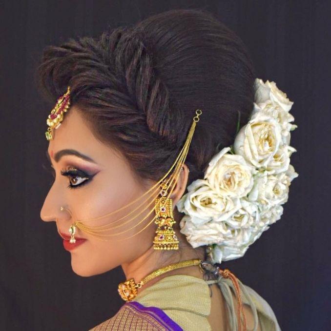 76 indian wedding kondai hairstyle