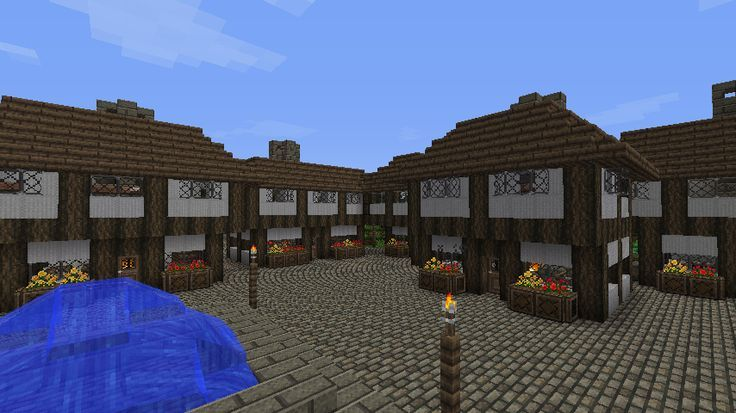 Minecraft On Pinterest Village Houses Minecraft Houses And