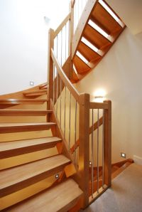 Wooden Handrail For Stairs For Classic Look Handrail ...