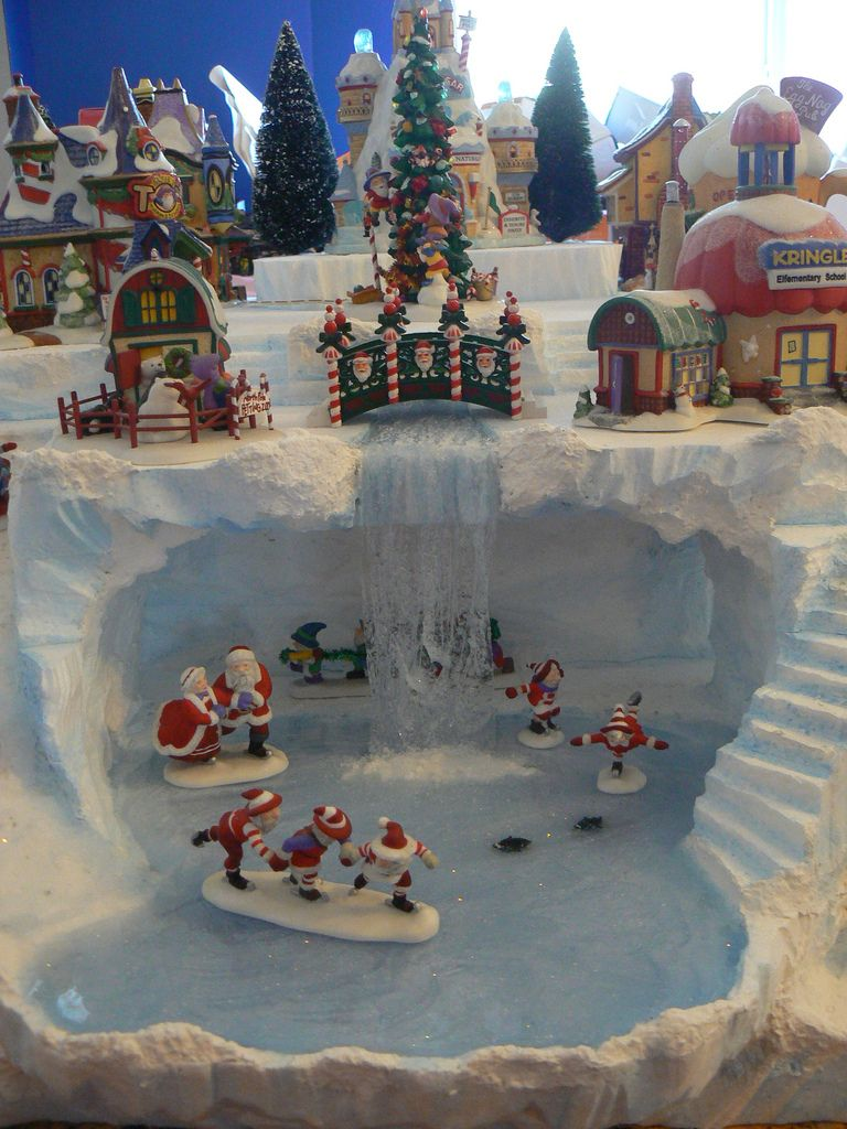 Skating Elves Elves Christmas Villages And Christmas