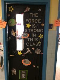 Door decorating for teacher appreciation