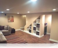Modern Under Stairs Storage Design Ideas Wilmette Basement ...
