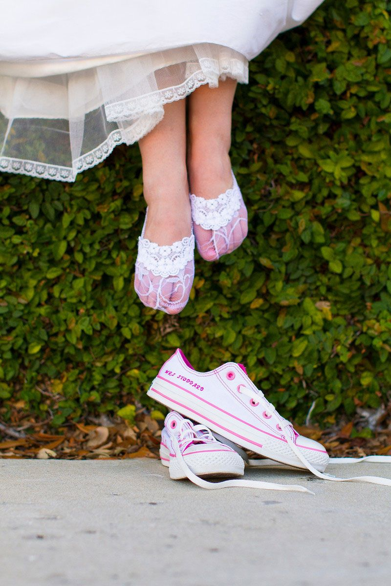 Wedding socks Converse shoes so cute im sooooooooooo getting me some chuck taylors for my