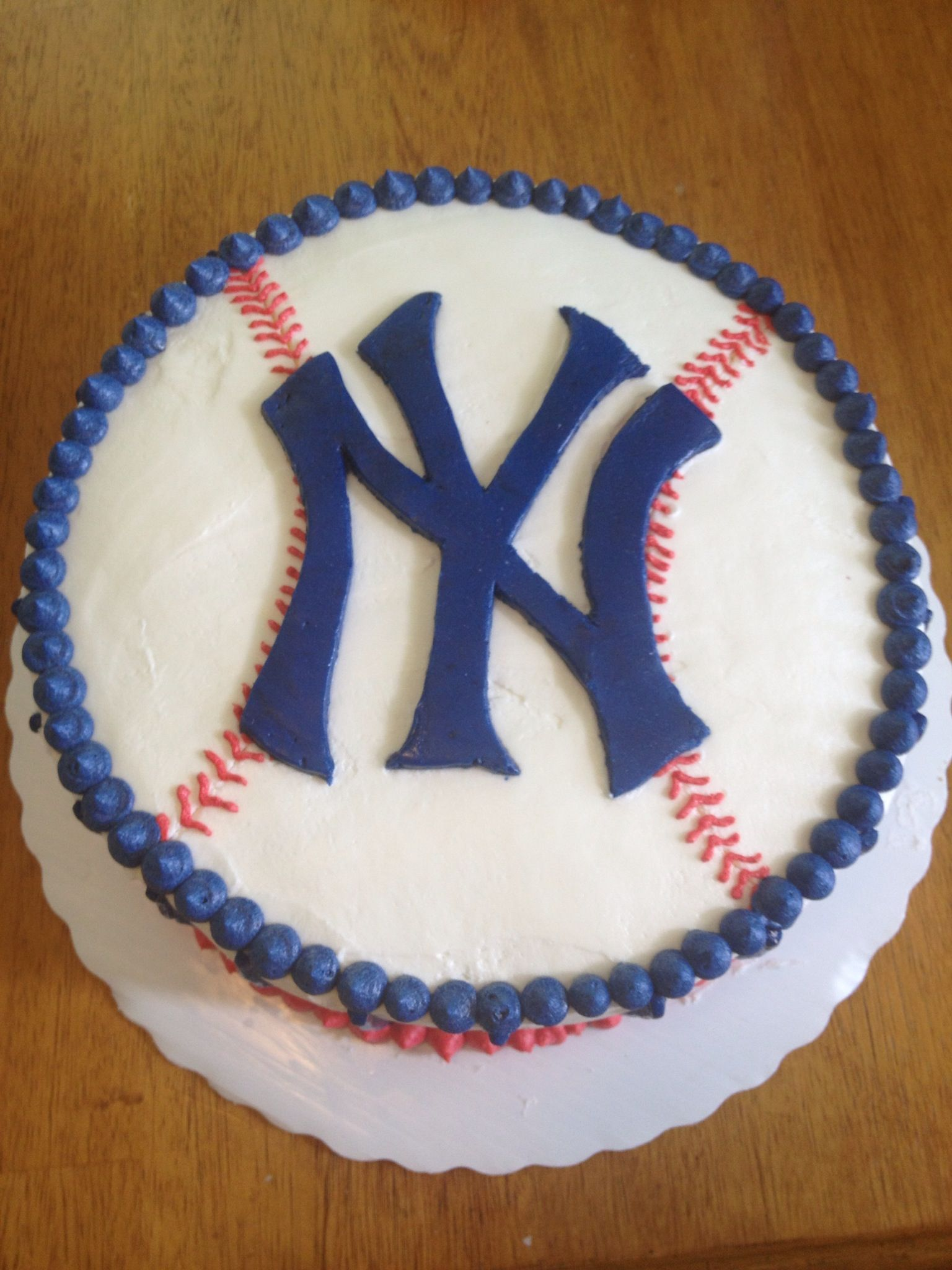 Yankees Cake For Bryce S 11th
