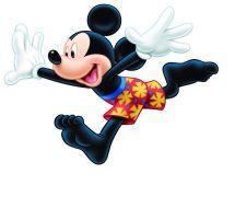 Disney Mickey Mouse Beach