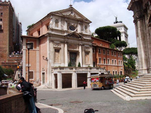 Mamertine Prison Rome. Ancient