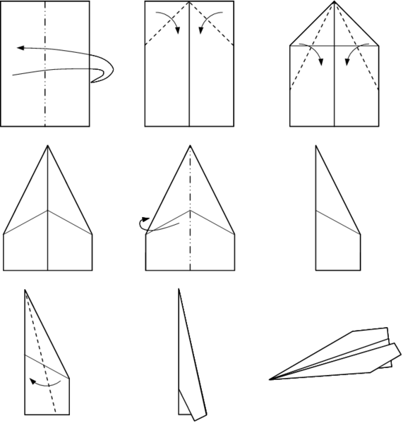 Read up on the Fascinating History of Origami Airplanes