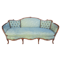 American Antique Carved Sofa Couch Loveseat Antique ...