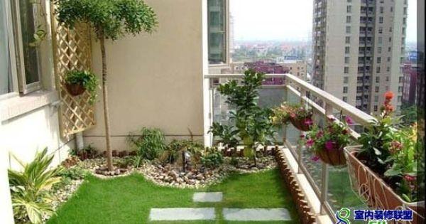 Balcony Garden On Pinterest Balconies Gardening And