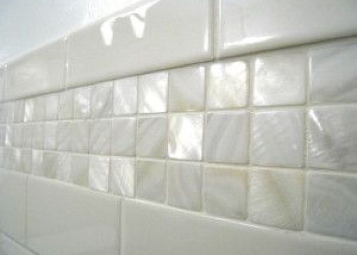 Mother of pearl tile design ideas found at https www subwaytileoutlet also white  shell pearls and in