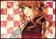 ashley brown curly hair anime