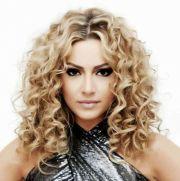 perms medium length hair