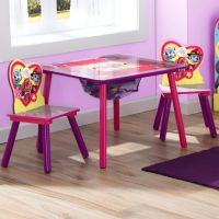 Nick Jr. PAW Patrol Skye and Everest 3 Piece Table and