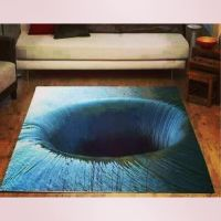 3D carpet | rugs | Pinterest | Cafe design and House