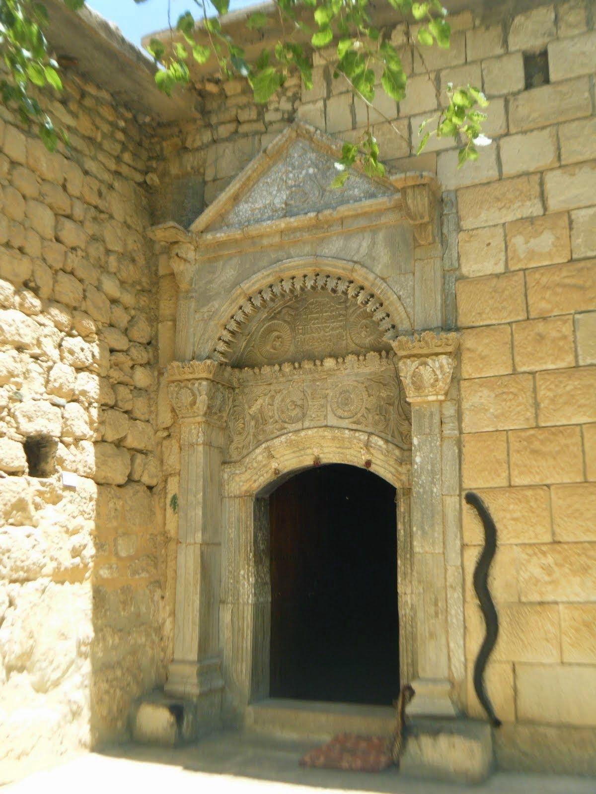 The Entrance Of The Yazidi Sun Temple Lali A Nurani The