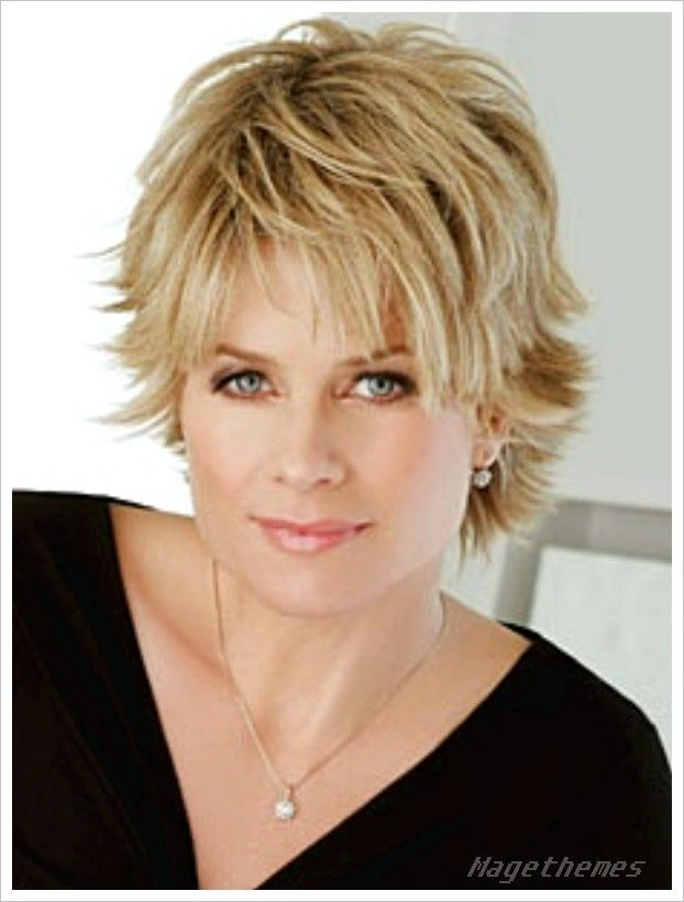Short Haircuts For Round Faces Over 50 Short Haircuts For Women