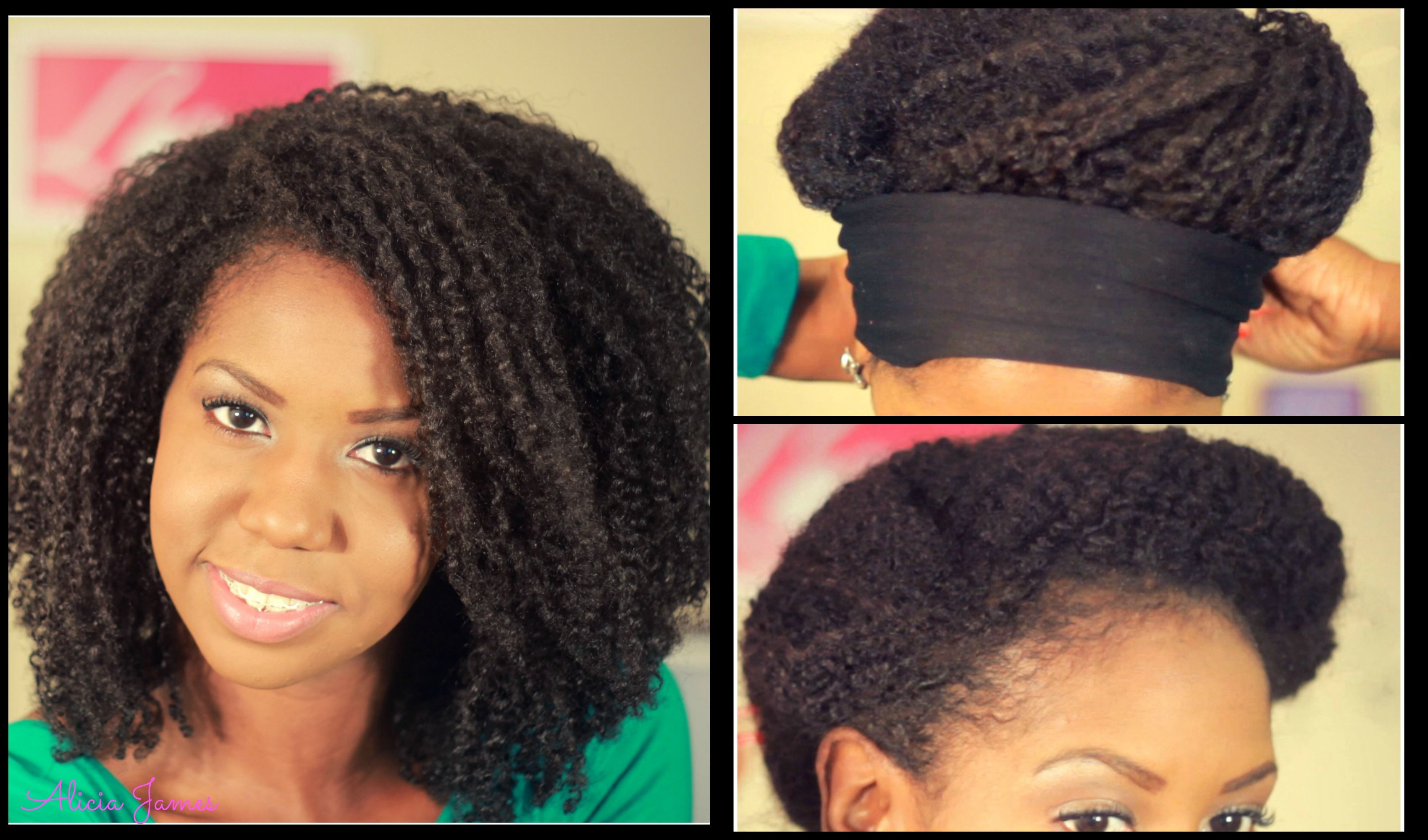 Night Time Hair Routine Day 3 Twist Out On Natural Hair
