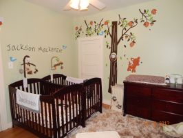 The Twins&39; Baby Room   Babies   Pinterest   Babies ...