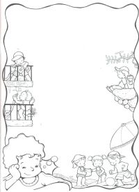 bordes escolares Colouring Pages