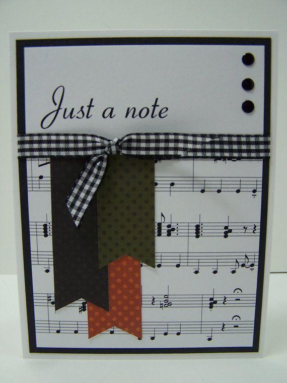 Music Teacher Appreciation Card Teacher Thank You Card