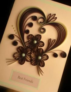Quilling hearts and flowers also the best images about paper quill cards on pinterest rh in
