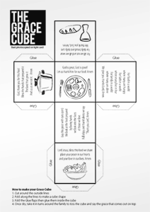 Grace Cube The Grace Cube can be cut out, folded up and