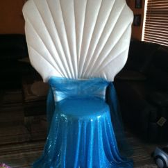 Baby Shower Chair Rental Wine Adirondack Clam (available For Local Rental) | Under The Sea Quince Pinterest Clams, Mermaid And ...