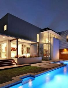 Modern home with pool top house designs ever built architecture beast world of houses pools also  like the   design pinterest rh