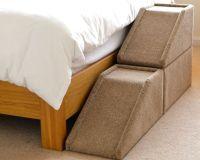 "24"" (62cm) Handmade Carpeted Wood Pet Ramp / Steps"