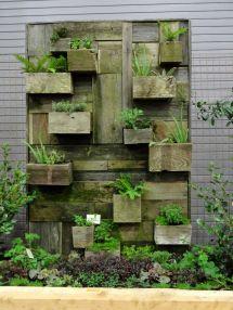 Reclaimed Wood Planter - Lovely