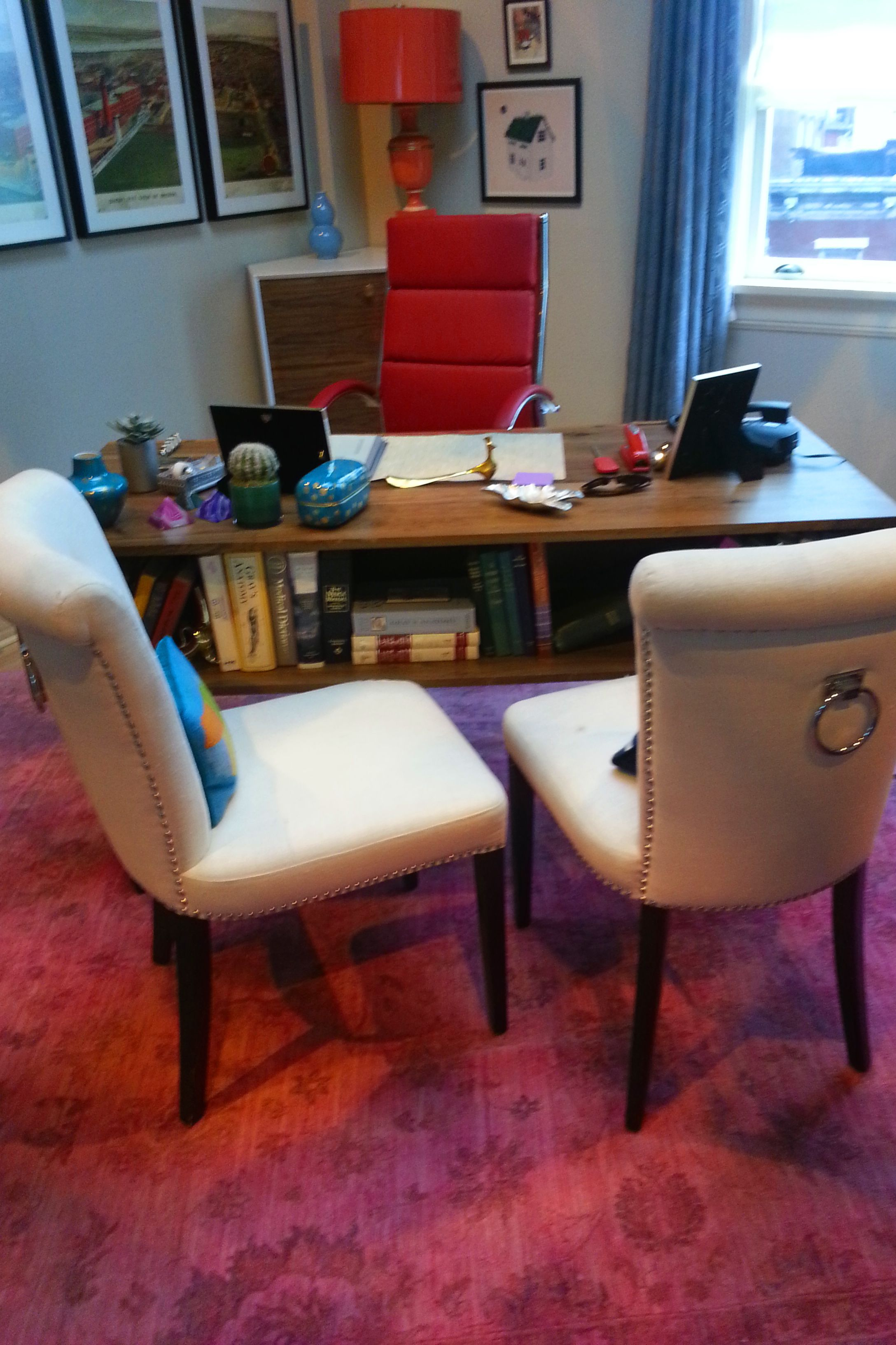 chair office accessories teak shower chairs benches inside mindy lahiri 39s aka where the magic happens
