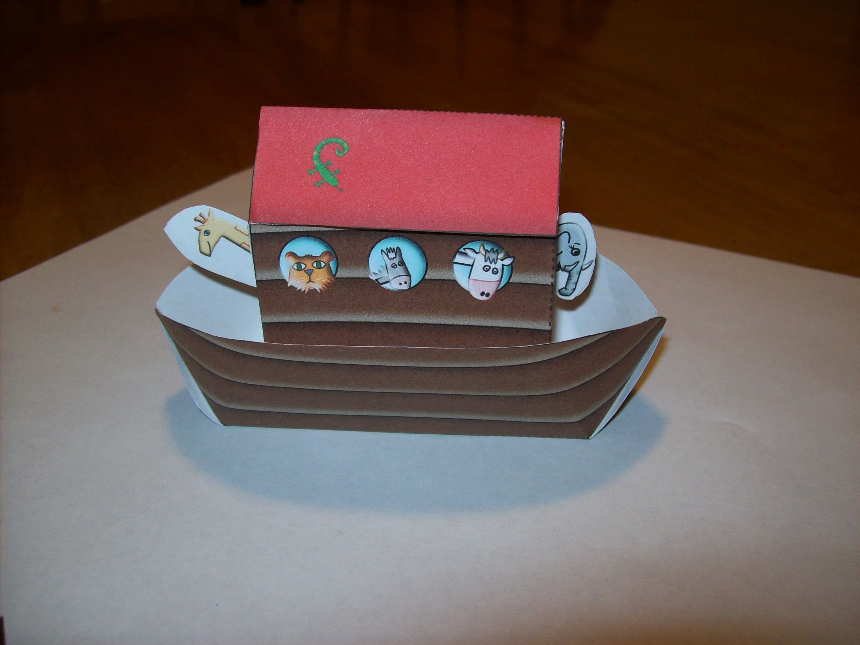 Noah S Ark Craft For Kids Car Train Plane Boat